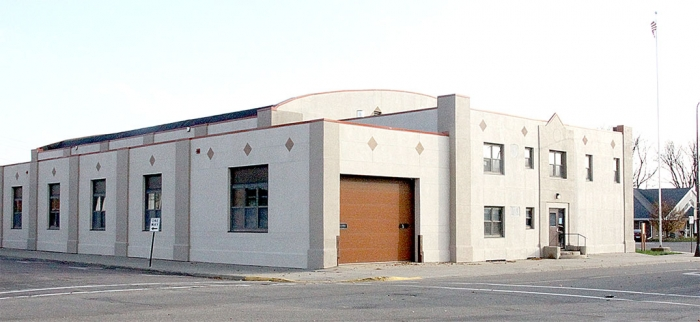 Benson's National Guard Armory building was built in 1927 and is one of few historic buildings left in the community.