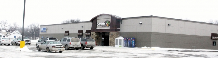 The new Do-Mat's Family Foods grocery store also houses Lewis Drug and Fischer Eye Center. It was a $3.5 million investment in the future of Do-Mat's and the community.
