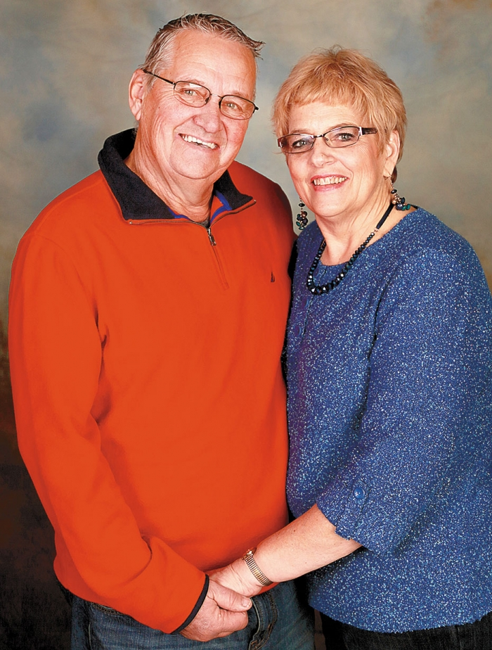 Gail and Steve Svor are this year's Pioneerland Band Festival grand marshals.