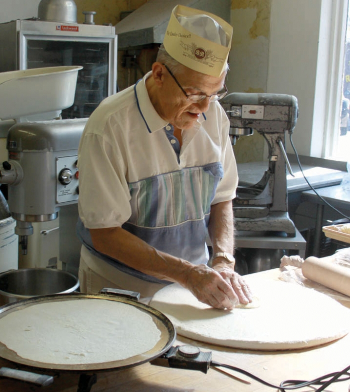 Jerry Johannessen is known for his lefse making skills.