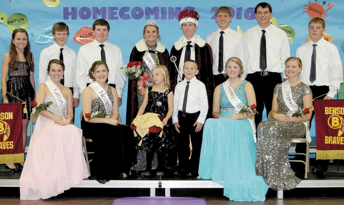 2016 BHS Homecoming Royalty
