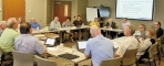 Members of the Swift County Board of Commissioners, Benson City Council and SCBH Governing Board met Monday night  to discuss financing for the hospital's proposed $12.5 million assisted living/memory care facility.