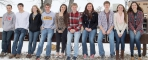 Pictured are the 10 Snow Week royalty candidates for Benson High School's 2016 Snow Week celebration.