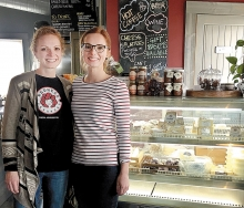 Alise Sjostrom started the Redhead Creamery and runs it along with her sister Maggie Jennissen.