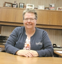 Barely a year out of Benson High School, Riverwood Bank Branch Manager Sheryl Madden started her banking career.