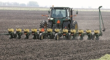 Soybean planting as of Sunday was 11 days behind the five-year average in Minnesota and four days behind last year.