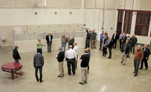 Members of the Legislature's prison task force toured the Prairie Correctional Facility last year as they considered its possible use by the State of Minnesota. Efforts to get the prison occupied again ran into opposition in Legislature as well as from Gov. Mark Dayton.